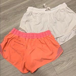 Lululemon shorts 3 in inseam Hotty hot